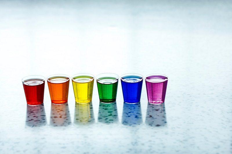 七色グラス