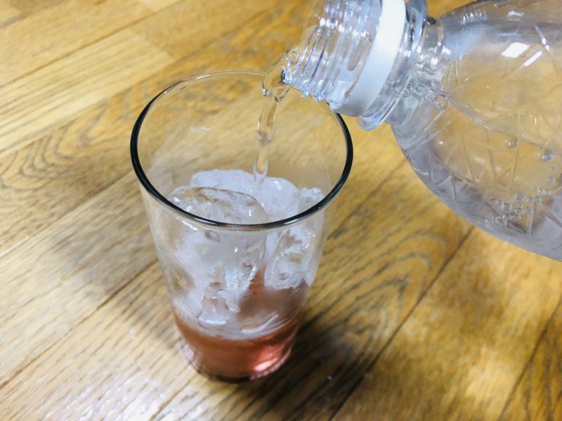 ソーダ割り過程2