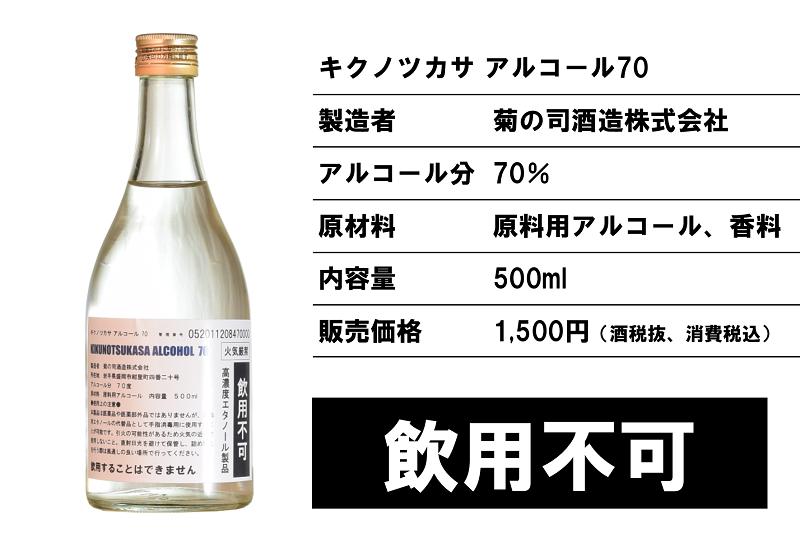 菊の司アルコール70_お知らせ2