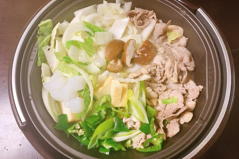 シンプル!簡単!贅沢!菊の司の日本酒たっぷりで作る「美酒鍋」